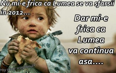 FRICA PERFECT JUSTIFICATĂ!!!