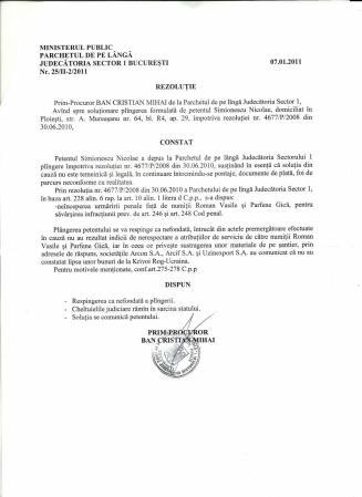 """""""ELIOT NESS"""" A ZIS:RĂMÂNE CUM AM STABILIT !!!"""