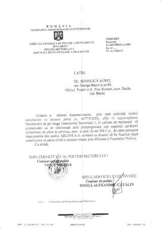 COMISARUL SAVA IULIAN RĂSPUNDE !!!