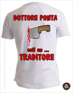 DOCTORE PONTA ..... EŞTI UN TRĂDĂTOR!!!